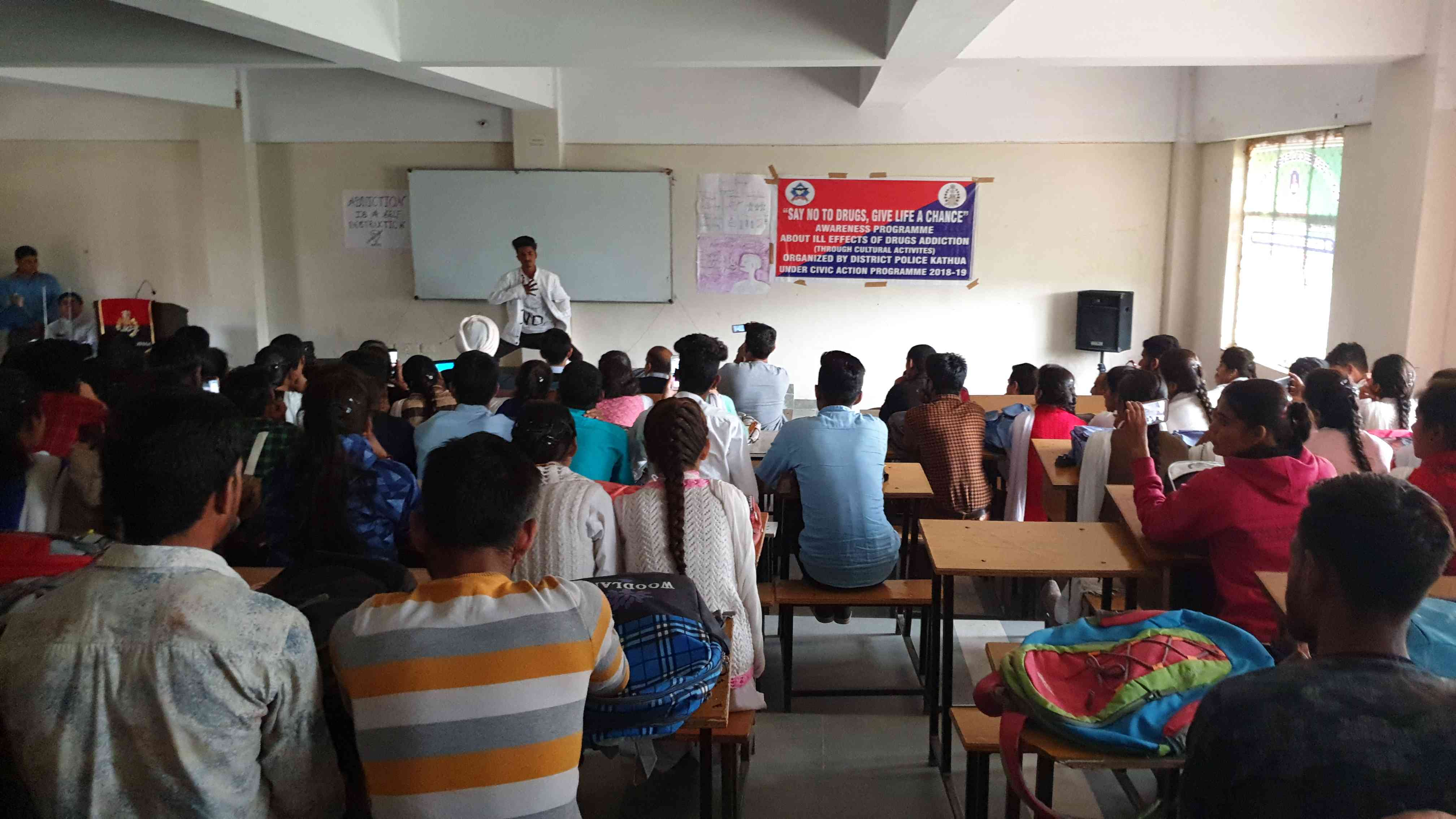 Awareness program on ill-effects of drug abuse