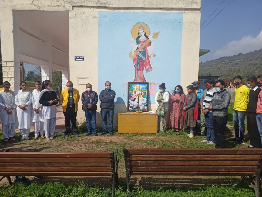 Celebration of basant panchami 2012