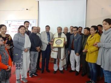 No substitute of hard work for success' Padam Shri Prof.Nirmohi