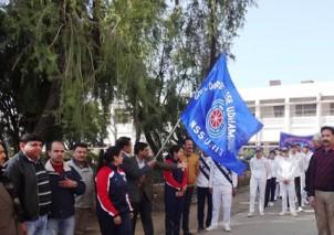GDC Udhampur organizes Mega Walkthon' under Fit India Movement
