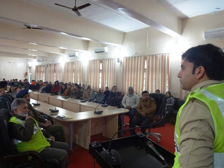 Observance of Road Safety Week at GDC Udhampur