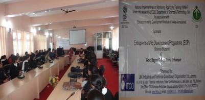 EDP TRAINING PROGRAMME BEGINS AT GDC, UDHAMPUR